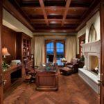 Деревянный кабинет
