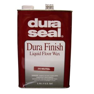DuraSeal Dura Finish Liquid Floor Wax