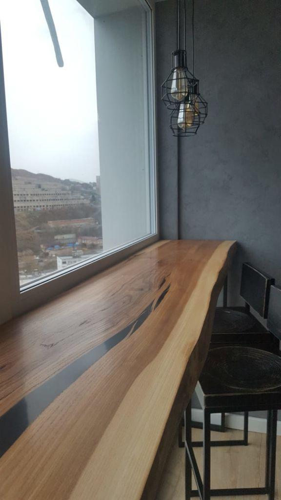 Столешница из спила дерева