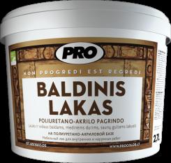 Мебельный лак BALDINIS LAKAS